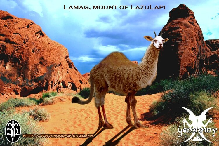 Lamag, mount of lazulapi by fallenRaziel