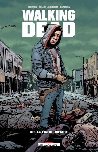 delcourt walking dead 32