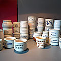 La collection de pots de yaourt anciens (ou yogourt) de 1930 à 1960 au complet !