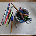 Simplification: le cas du stylo et du crayon