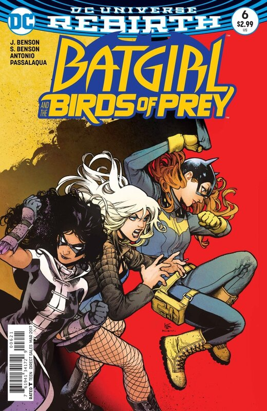 rebirth batgirl and the birds of prey 06 variant