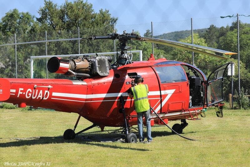 Photos JMP©Koufra 12 - Le Caylar Mouton Héliportage Alouette III - 20062018 - 747