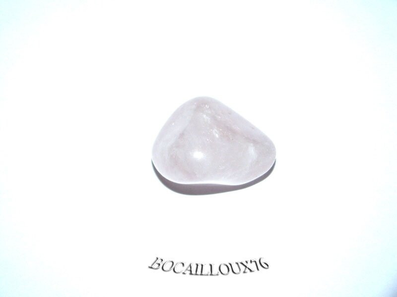 QUARTZ ROSE 2 Roulé - Pour CREATION - Lithotherapie