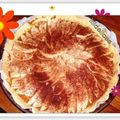 Tarte fine aux pommes speculoos