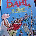 Roald dahl, le géant de la littérature jeunesse
