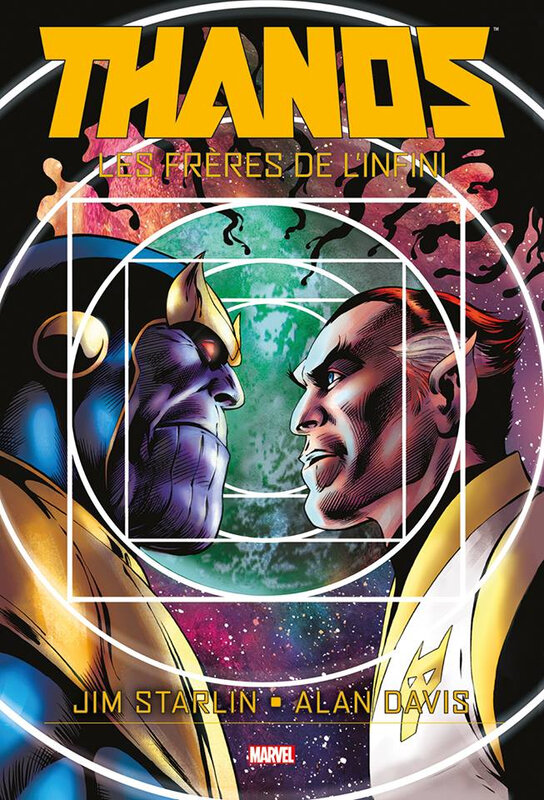 graphic novel thanos les frères de l'infini