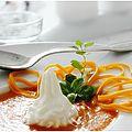 Velouté carottes, patates douces et mimolette jeune.....
