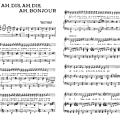 Ah, dis, ah, dis, ah, di, ah, bonjour - charles trenet (partition - sheet music)