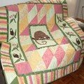 Gorgeous quilt from australia for amélie's birth