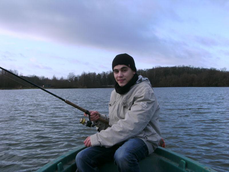 Tertre avec Romain - janvier 2010
