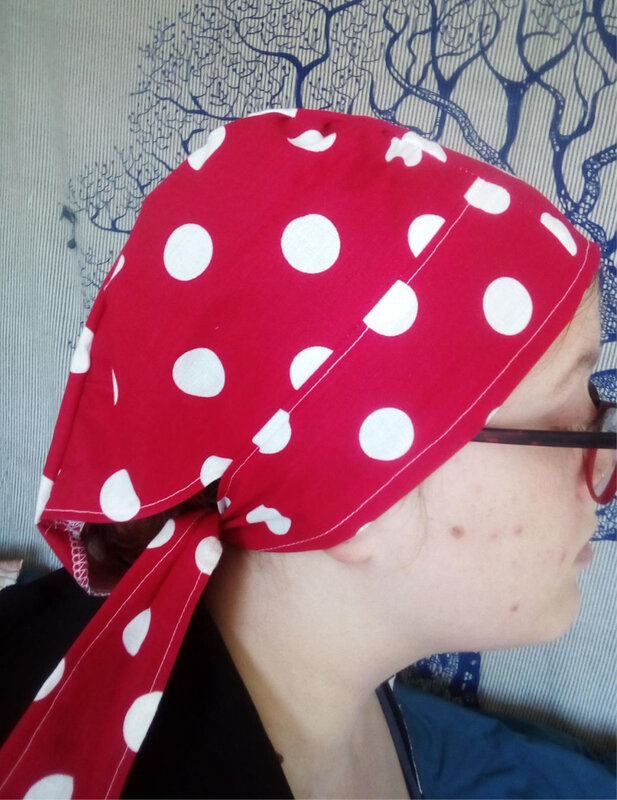 rouge pois blancs 1