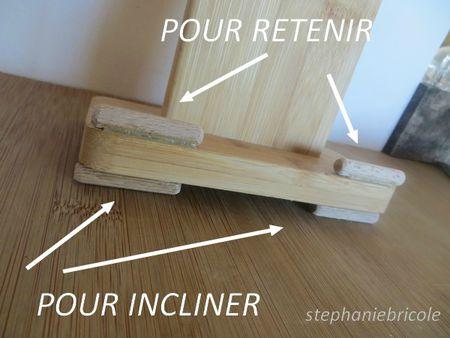 diy récup - porte planches à découper en bambou 2