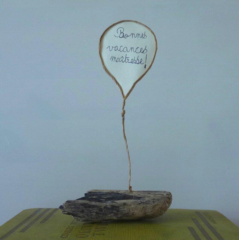 Cadeaux maitresses - ballon CM1