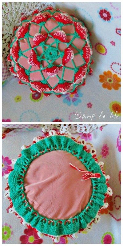 ®pimp ta life coussin fraises
