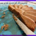 Essai n°1 de gâteau à la noix de grenoble