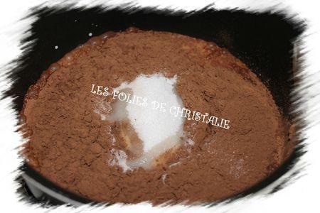 Crème légère au chocolat1