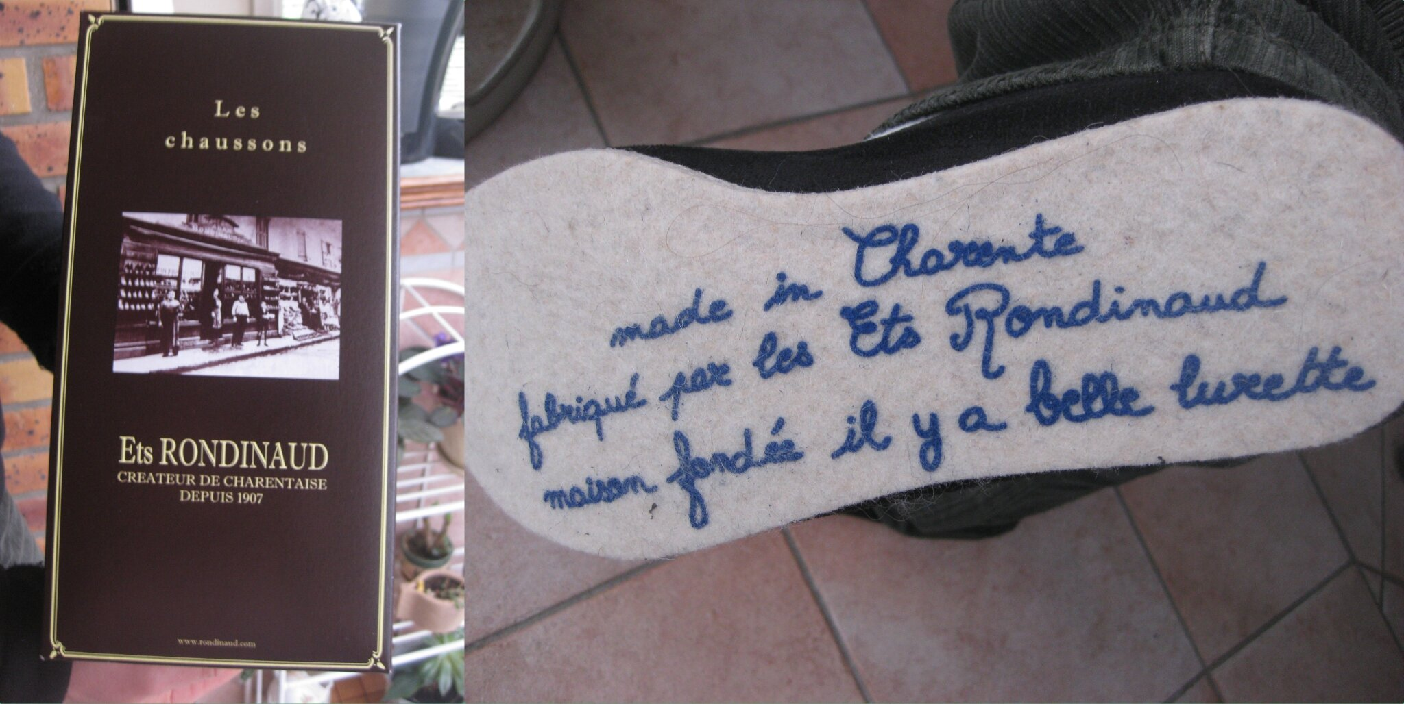 combi chaussons