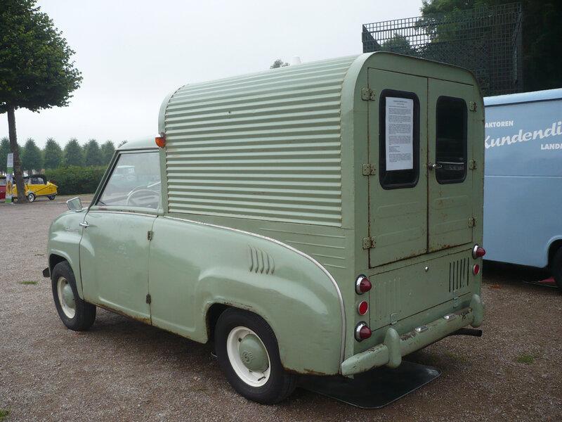 MUNISA Goggomobil FM-350 Furgoneta 1965 Schwetzingen (2)