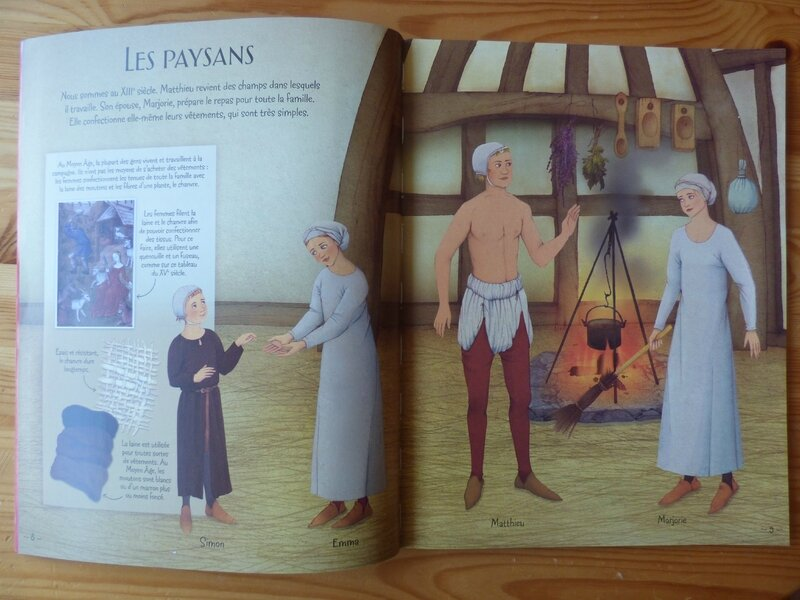 La mode au Moyen Age (1)