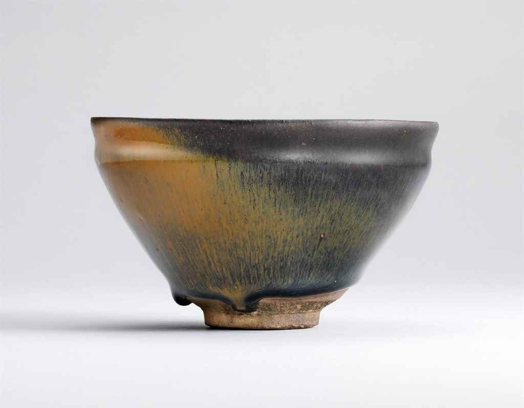 A Jian russet and black-glazed tea bowl, Southern Song dynasty (960-1279)