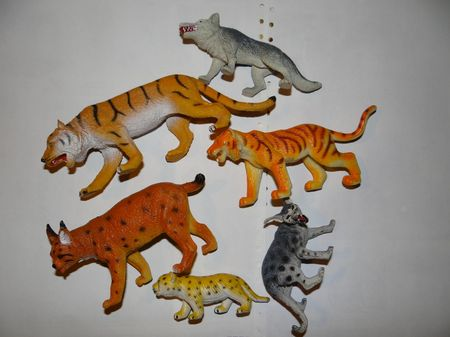 figurines d'animaux