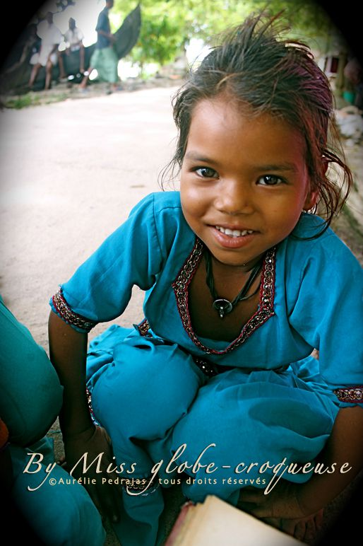 photo suman- petite fille cochin- inde