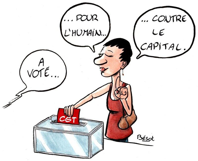 Vote CGT - Bésot