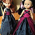 Chéries corolle....robes de princesses