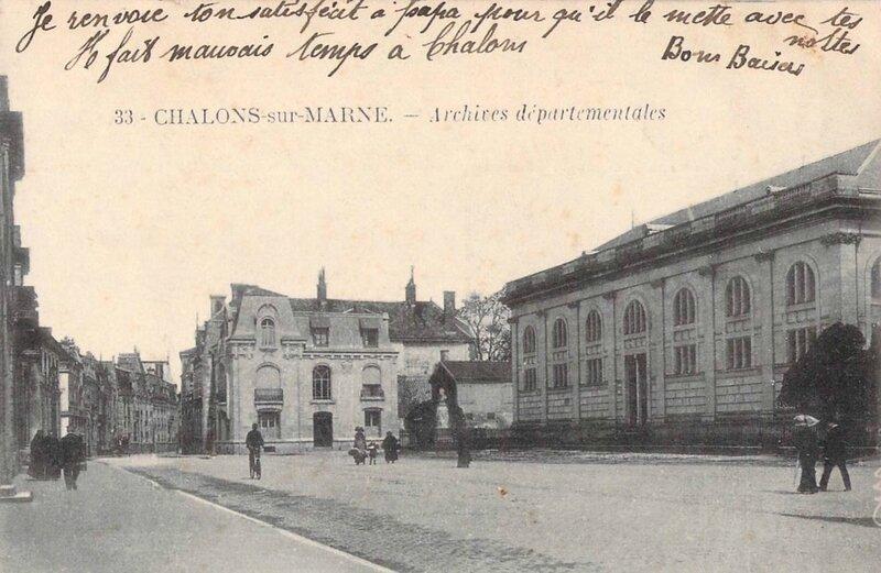 Châlons-sur-Marne arch dép