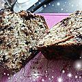 Banana bread aux pépites de chocolat - allégé en calories ! (120 kcal la part/version à 86 kcal également proposée)