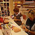 Ateliers de création de poupées