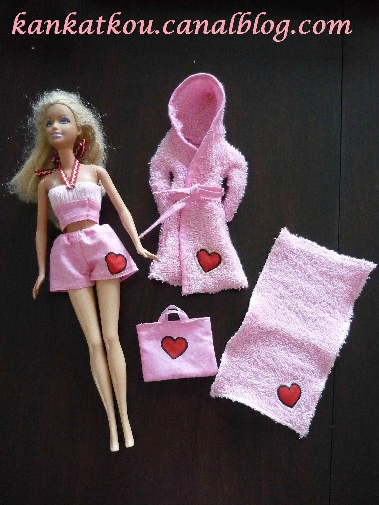 Accessoires de plage barbie