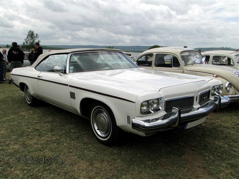 oldsmobile delta 88 royale convertible 1973 c