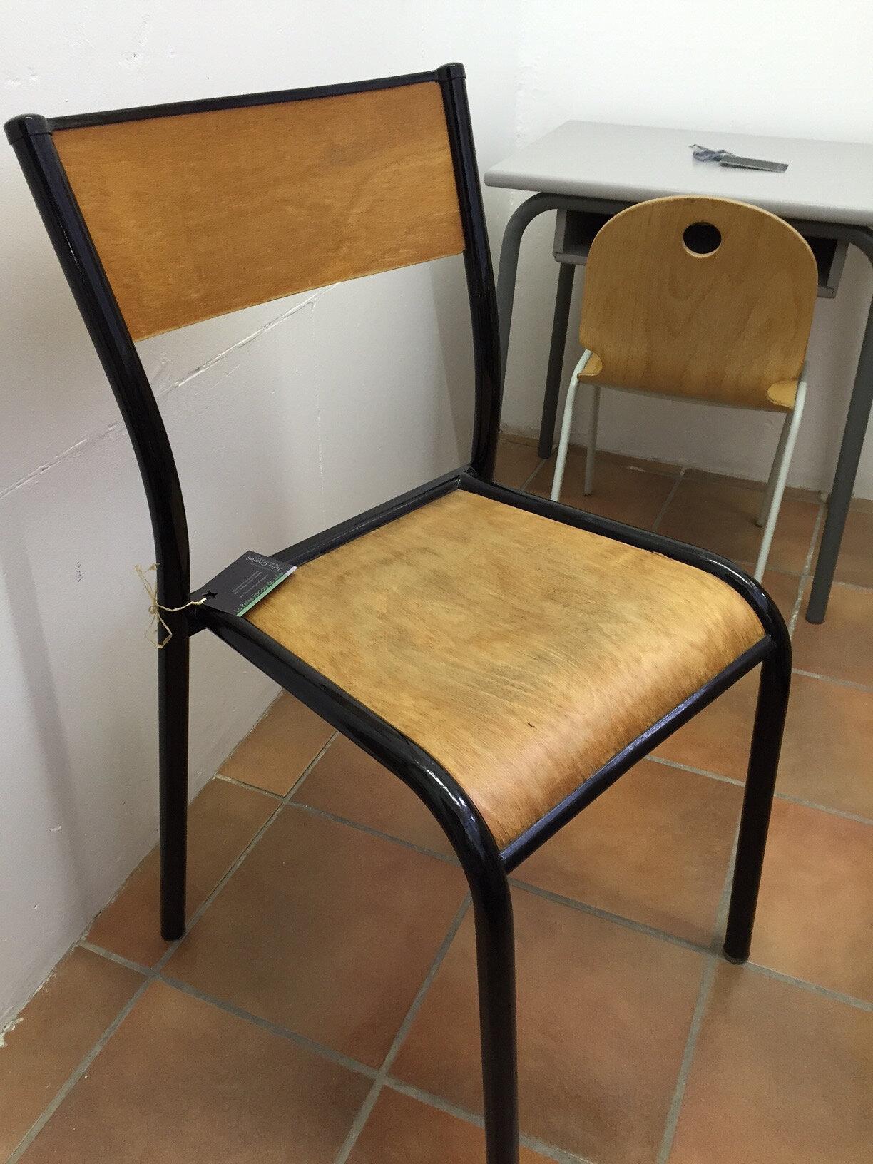 chaise colier mulca la petite factory de julie. Black Bedroom Furniture Sets. Home Design Ideas