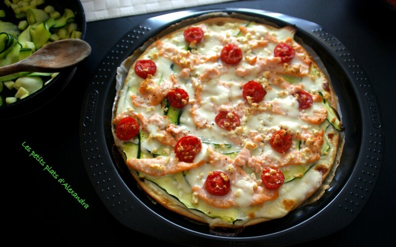 tarte courgette saumon4