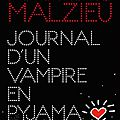 Journal d'un vampire en pyjama - mathias malzieu - editions albin michel
