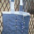 Sac-robe en jean