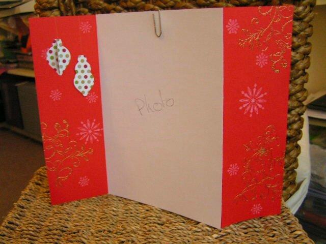 support photo Noël façon paravent - à vendre
