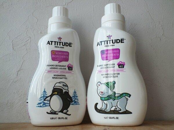 2 Lessive Adoucissant Attitude