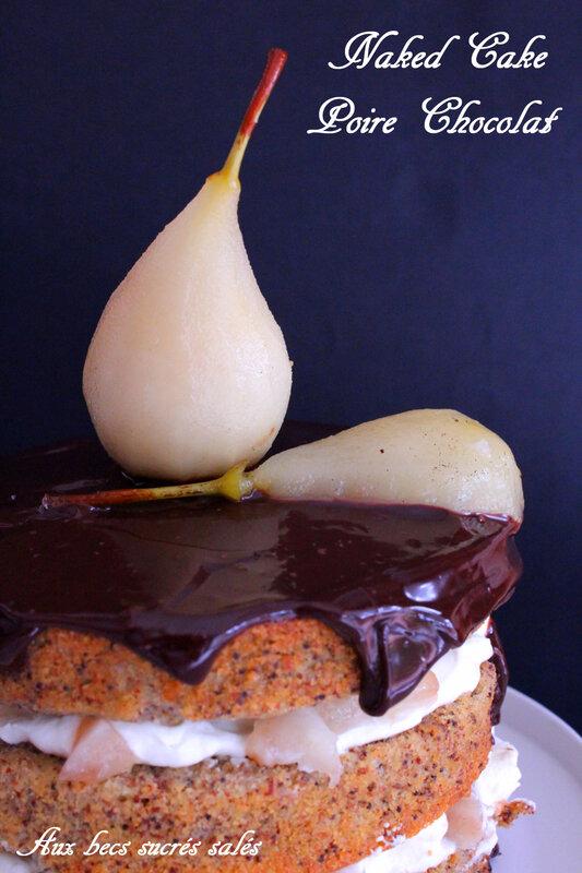 Naked Cake Poire