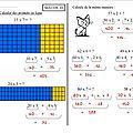 Maths 10 ce2 : produits en ligne