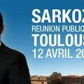 Nicolas sarkozy en meeting aujourd'hui à toulouse !!