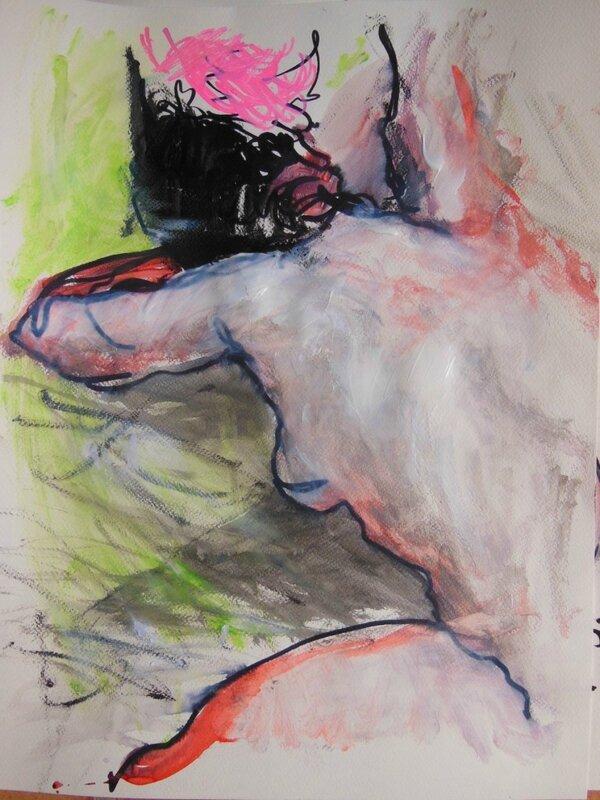 tableaux de nus artistique peinture dessin 31
