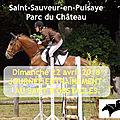 22 avril à saint sauveur, les chevaux nous font leur show !