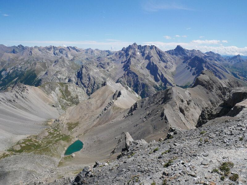 Vallon des Houerts, lac Bleu
