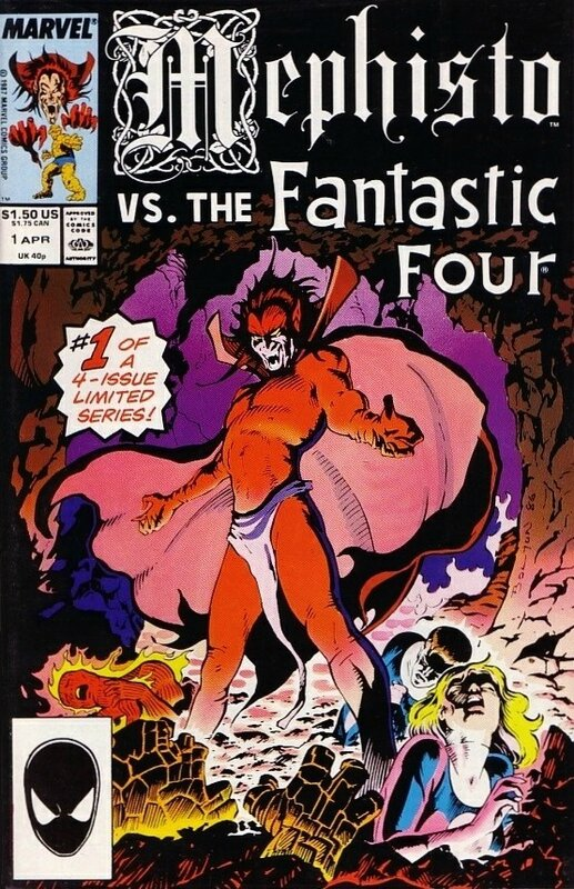 mephisto vs the fantastic four 1