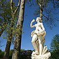 Versailles en ciel bleu.