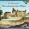 L'hermenault, château épiscopal des évêques de maillezais (time travel)