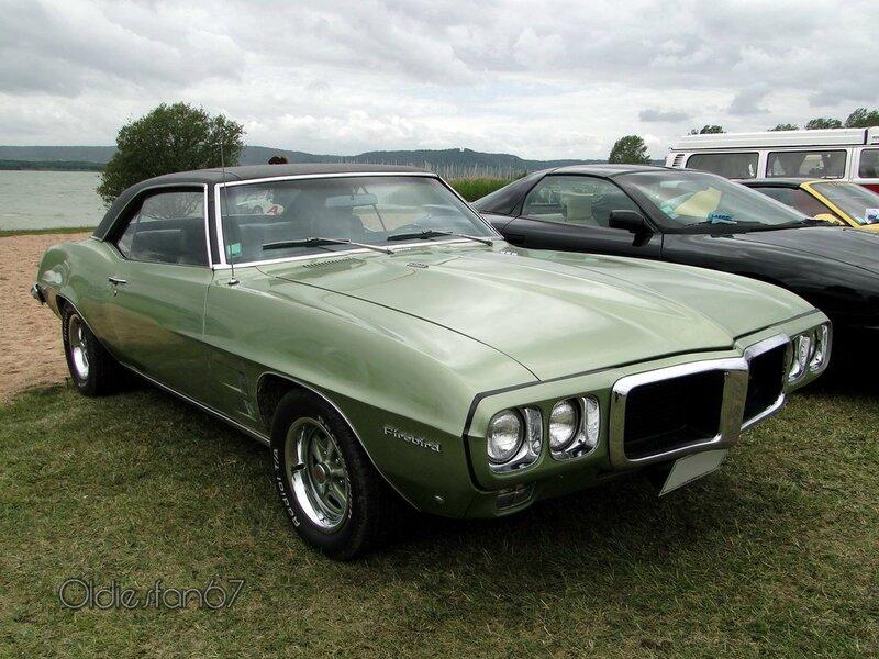 pontiac firebird hardtop coupe 1969 a