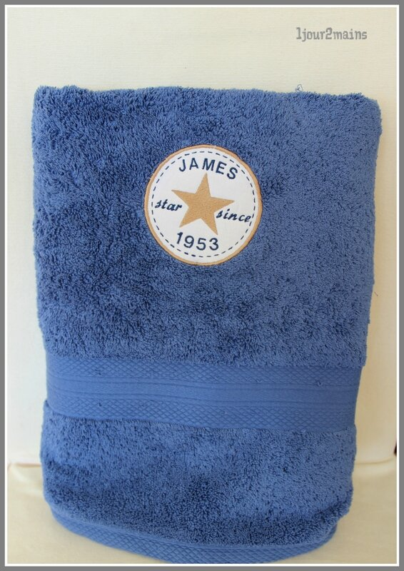 serviette eponge james